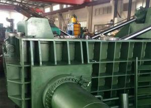 China Recycling plant scrap metal steel iron 630t  hydraulic pressing automatic baler on sale