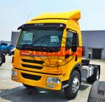 30 Tons Tractor Head Trucks Dragon V Cabin 4x2 Driving Type LHD Steering