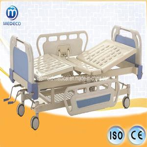 China Manual Hospital Bed with ABS head/foot board(Central locking)B-5-1 Ecom32 on sale