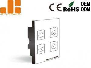 China Four Channels Output Remote Dimmer Switch , DALI High Power Dimmer Switch on sale