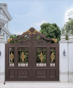 China Durable Aluminum Sliding Door Main Gate Garden Shade Netting for Courtyard on sale
