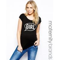 maternity shirt with speech bubble print maternity clothes manufacturers