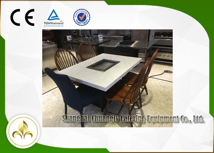 Self Service Mini Outdoor Hibachi Table Electric