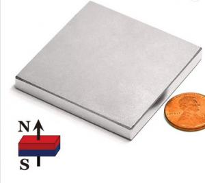 China Industrial Rare Earth Magnet Block High Coercivity Neodymium - Iron - Boron Material on sale