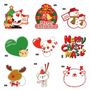 China Christmas Theme Gifts Self Adhesive Sticky Labels Custom Adhesive Labels on sale