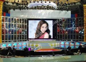 China IP40 Indoor Rental LED Display Led Electronic Billboards For Stage / Schools on sale