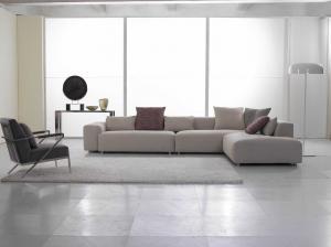 Quality Home Furniture Modern Fabric Sofas Set Italian Style Corner Sofa For