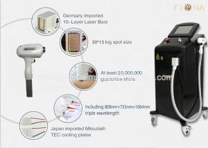 China Vertical 808nm Diode Laser Hair Removal Machine 1- 10 Hz Frequency CE Certificate on sale
