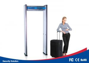 China airport 6 detecting zones waterproof boby  metal detector security gate door with IP66 on sale