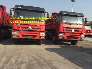 China 40T Capacity LHD 6X4 SINOTRUK HOWO Tipper Dump Truck Euro 2 336HP Engine HYVA Front Lifting on sale