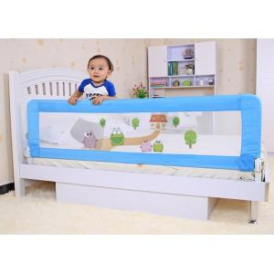 Quality Fashion Pink Baby Bed Rails Cartoon Safe Guard Railing For 1