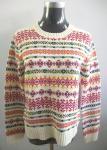 Suéter del telar jacquar de la moda de las mujeres