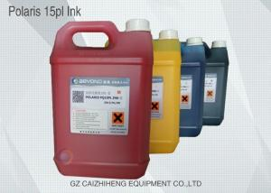 China Scratch Resistant Waterproof Printer Ink Solvent Fast Drying Leyenda Polaris 15PL on sale