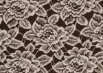 O OEM/ODM Customied escovou a tela floral do laço pela jarda CY-LQ0006 antiestático