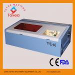 Máquina de gravura TIE-40 do laser do selo mini