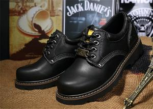 2c6f937c77bf ... Quality Non Slip Rubber Sole Work Safety Shoes Cowhide Leather Work Boots  For Men   for ...