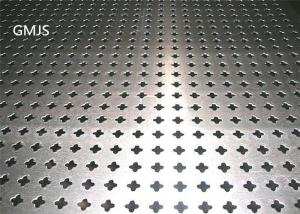 China Round Hole Shape Perforated Metal Mesh Screen High Durability Anti - Corrossion on sale