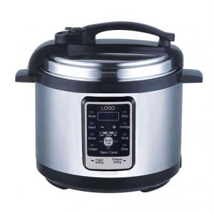 China EMPRC10 / Electric pressure cooker / 6L/ Computer control on sale