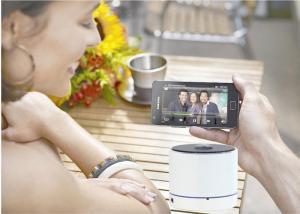 China Teléfono elegante mini USB que empareja el anillo - Presidente sano de Bluetooth del subwoofer con el MIC on sale