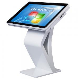 China High Definition All In One Desktop Touch Screen , Floor Standing Touch Screen Kiosk on sale