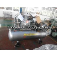 Portable piston air compressor for pneumatic tools / sandblasting  with low noise