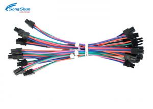 China Motocycle Auto Electric Wiring , 3.0mm Pitch Connector Automotive Electrical Harness on sale