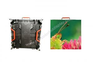China Seamless splicing P4.81 outdoor rental led display screen with S-VIDEO HDMI DVI on sale