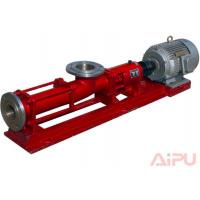 Oilfield high quality screw pump used to feed decanter centrifgue at Aipu
