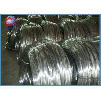 China 316 Stainless Steel Spring Wire , Stainless Steel Tie Wire For Cable on sale