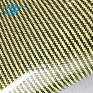 China carbon fiber cloth coating TPU leather on sale
