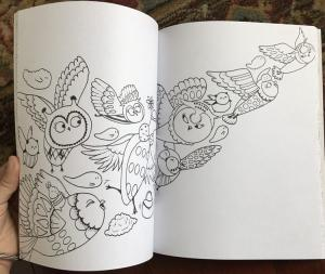 China Easy Interactive Coloring Pages Printing For  Kids Babies Reusable Drawing on sale