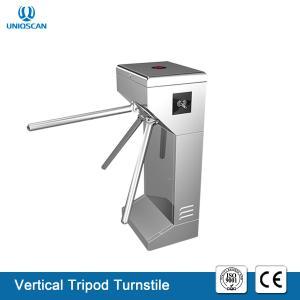 China AC220V/110V Access Control Tripod Turnstile Gate Entrance / Exit Gate Card Swipe Machine on sale