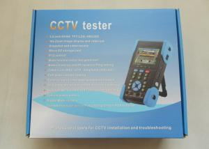 China CCTV IP Security 3.5 TFT-LCD CCTV Tester , Optical Power Meter , Cable Scan on sale