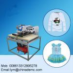 Guangzhou factory moveable heat press machine t shirt printing machine