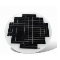 Outside Glass Solar Mini Panel 3.6V Batteries Withstands Snow Load Without Frame