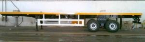China Container Semi-trailer on sale