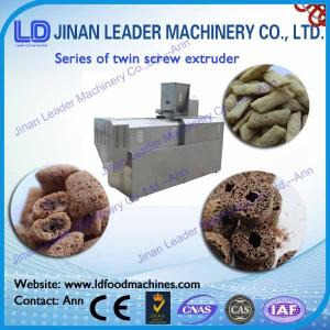 China Twin Screw Extruder for Snack Food Different Capacity Extruder on sale