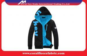 China Adult / Youth / Children Windproof Hood Outdoor Jacket Coats Lightweight Mens Black Jacket on sale