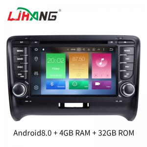 China 7 INCH Audi A4 Dvd Player , BT WIFI Dvd Player ST TDA7388 For Android on sale