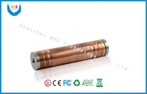 China Adjustable Red Clone Mechanical Mod , vanilla copper mod 18650 Battery on sale