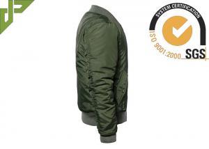 Quality La chaqueta militar de Softshell del verde verde oliva, limpia la chaqueta t for sale