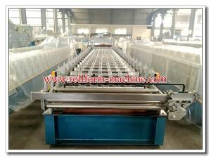 China Aluminium Metro Copo Roofing Step Tile Sheet Corrugating Machine, Roll Forming Equipment on sale