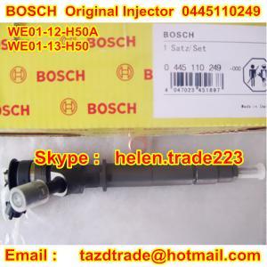 China BOSCH Original Injector 0445110249 /WE01-13-H50 /WE01-12-H50A for MAZDA BT-50  WE0113H50 on sale