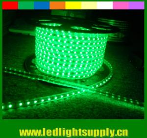 China High lumen SMD5050 220V waterproof IP65 led neon flexible strip green on sale