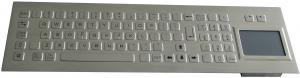 China タッチパッドのレーザーによって刻まれるグラフィック PS/2 または USB インターフェイスが付いている 81 のキーの産業キーボード on sale