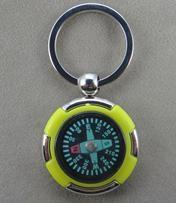 China promotional outdoor gear compass keychains engravable on sale