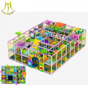 China Hansel  China commercial family entertainment center play indoor playground equipment made by soft on sale