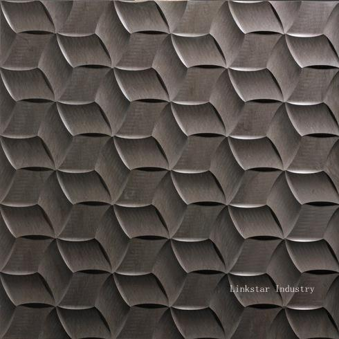 Natural Stone 3d Wall Cladding Textures Panel For Sale