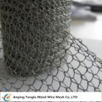 Stainless Steel Knitted Wire Mesh |Single or Double Wire 1x2mm Hole/0.15mm