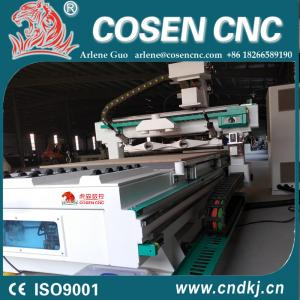 China ATC cnc woodworking router machining center from COSEN CNC 2018 new product on sale